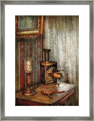 Photographer - The Fun Starts Tonight Framed Print by Mike Savad