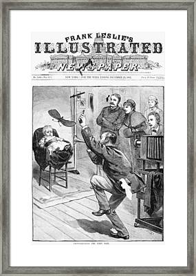 Photographer, 1882 Framed Print