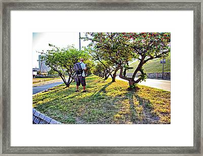 Framed Print featuring the photograph Photographer by Brian Wallace