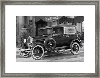 Photographer's 1928 Truck Framed Print by Underwood Archives