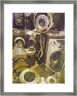 Photographic Memory Framed Print by Kris Parins