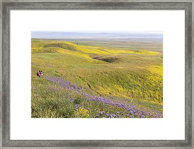 Framed Print featuring the photograph Photographing Carrizo by Marc Crumpler