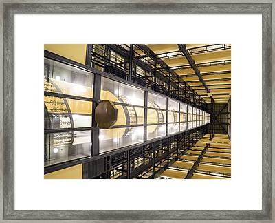 Photon Cannon Framed Print