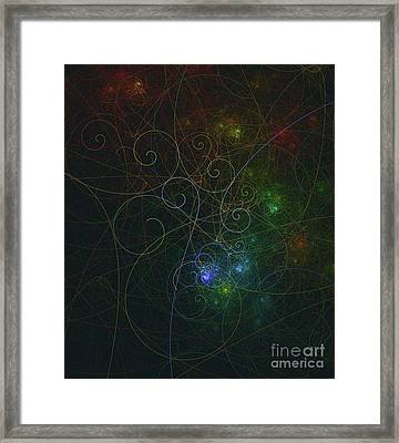 Photons Of Life Framed Print