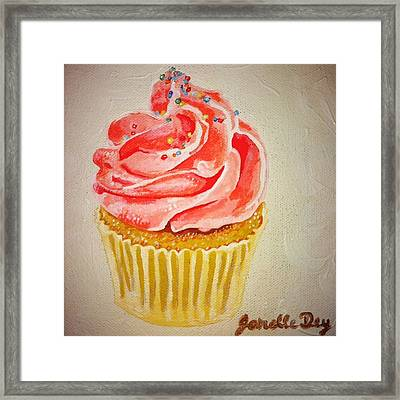 Framed Print featuring the painting Photorealism by Janelle Dey