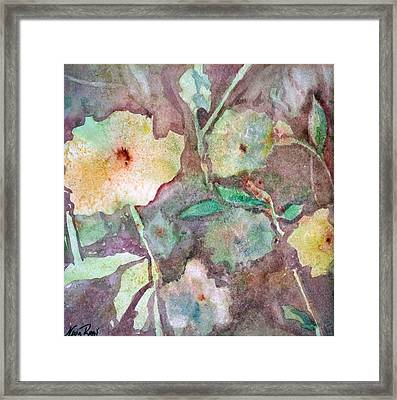 Photosynthesis Framed Print by Neva Rossi
