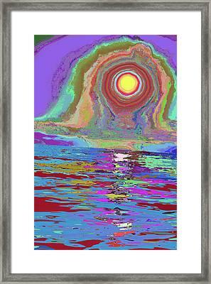 Photosynthesized In Vibrant Color V3 Framed Print