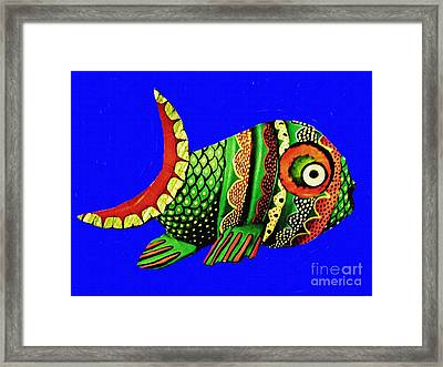 Phred Phish Framed Print