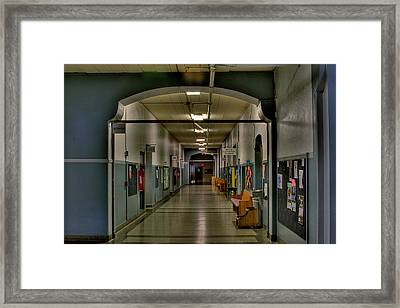 Phs 2nd Floor Framed Print