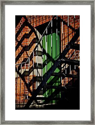 Physical Graffiti Framed Print by Odd Jeppesen