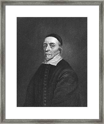 Physician William Harvey Framed Print by Underwood Archives