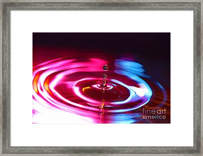 Physics Of Water 1 Framed Print