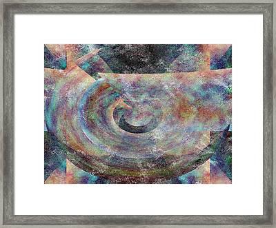 Pi Plus Framed Print by Christopher Gaston