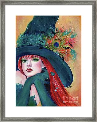 Pia Dora Witch Framed Print by Renee Lavoie