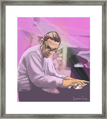 Pianist 2 Framed Print