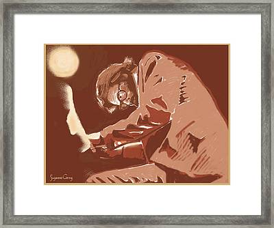 Pianist Framed Print