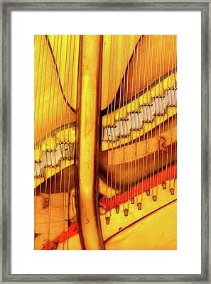 Piano 1 Framed Print by Rebecca Cozart
