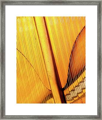 Piano 3 Framed Print by Rebecca Cozart