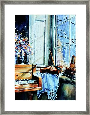Piano In The Sun Framed Print by Hanne Lore Koehler