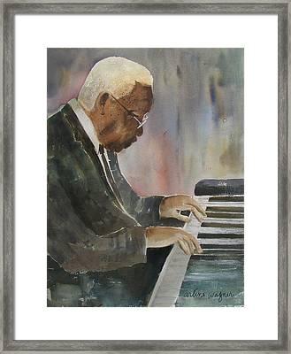Piano Jazz Framed Print