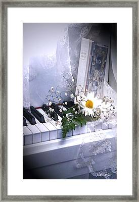 Piano Framed Print by Kenneth Lambert