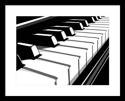 Keyboard Framed Prints