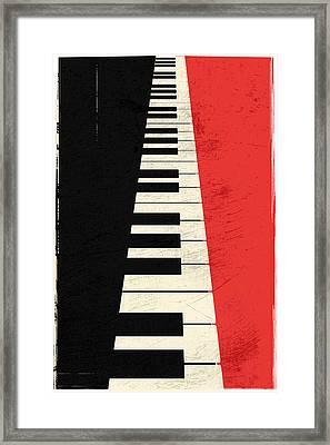 Piano Keys Framed Print