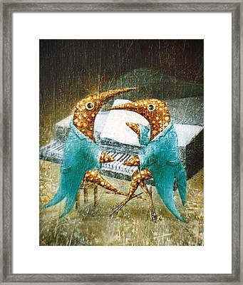 Piano Lessons Framed Print by Lolita Bronzini