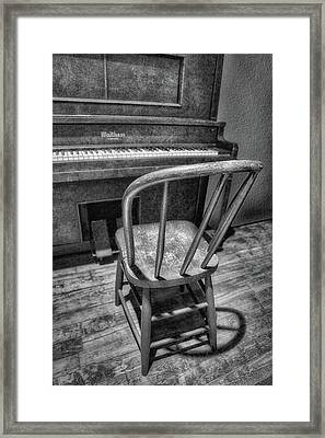 Piano - Music Framed Print