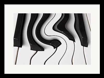 Color Bending Framed Prints