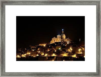 Piazza Armerina Framed Print