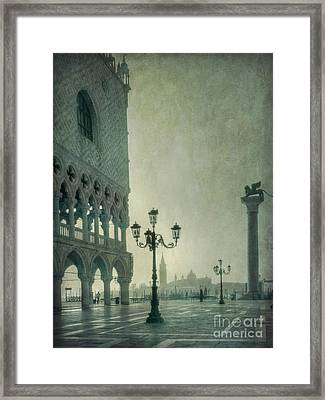 Piazza San Marco 2 Framed Print by Marion Galt