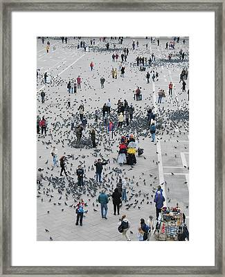 Piazza San Marco Framed Print by Bernard Jaubert
