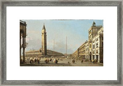 Piazza San Marco Looking South And West Framed Print by Celestial Images
