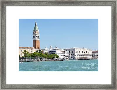 Piazza San Marco Framed Print by Svetlana Sewell