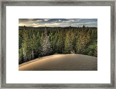 Pic Dunes   Framed Print