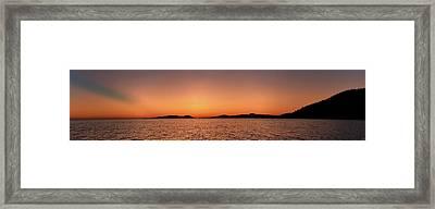 Pic Horizons Framed Print