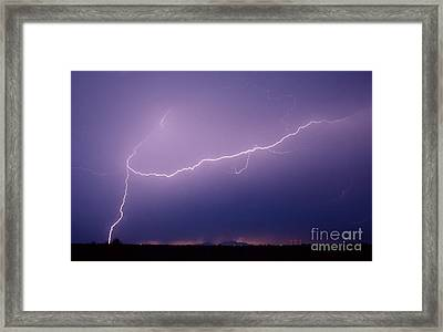 Picacho Aerial-signed Framed Print