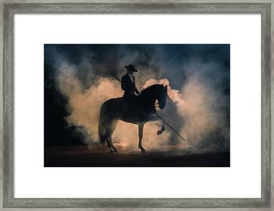 Picador Framed Print by Ekaterina Druz