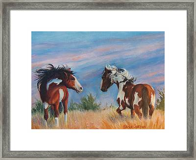 Picasso Challenge Framed Print by Karen Kennedy Chatham