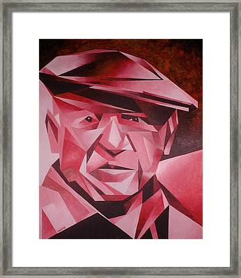 Picasso Portrait The Rose Period Framed Print