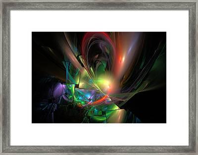 Picassoractal Framed Print