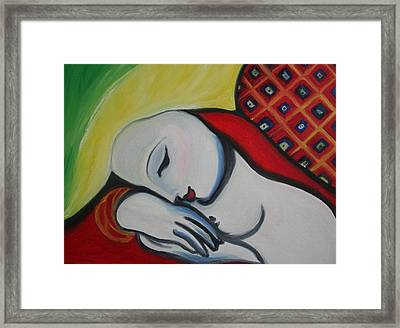 Picasso's Resting Angels Framed Print