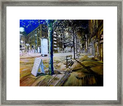 Piccadilly Gardens, Manchester Framed Print