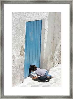 Picena 10 Framed Print by Jez C Self