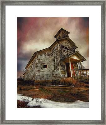Picher Christian Church Framed Print