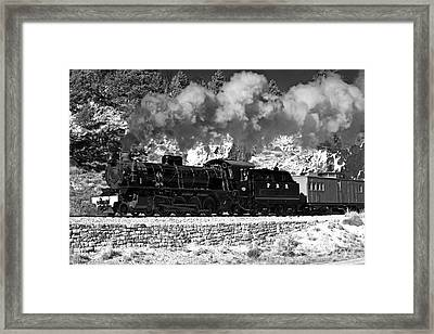 Pichi Richi Railwaytrain Framed Print by Bill  Robinson