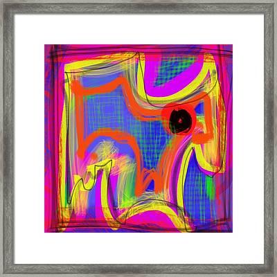 Pichorso Framed Print
