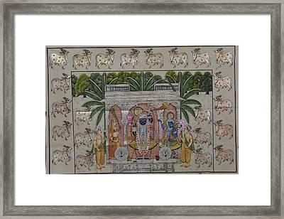 Pichwai 4 Framed Print