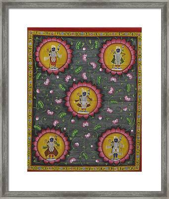 Pichwai 6 Framed Print
